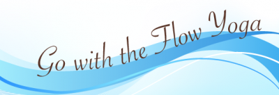 Go with the Flow Yoga Logo